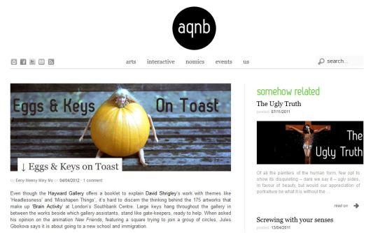 AQNB.COM, art review