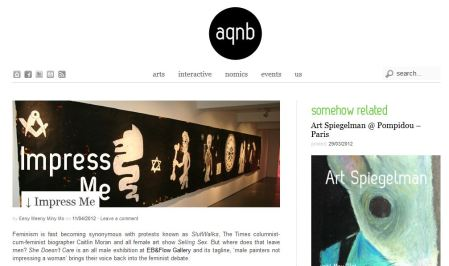AQNB.COM art review