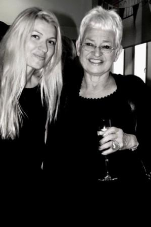 With Dame Jacqueline Wilson at her Investiture