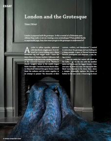 World Literature Today Magazine, USA, feature on London in relation to the grotesque in art and literature