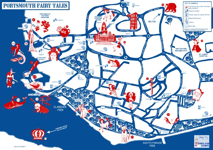 Port&Lemon  for Portsmouth Fairy Tales supported using public funding by Arts Council England