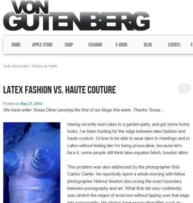 Article for Von Gutenberg Blog