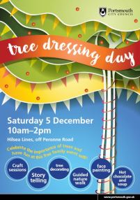Tree Dressing Day Hilsea Official Poster