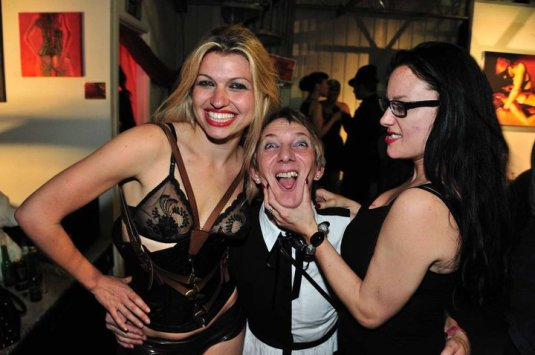 Tessa Ditner with Bobette and Mistress Absolute - Bobette all rights reserved