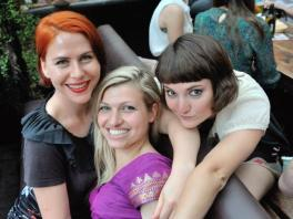 (C)2012 bobette, all rights reserved - with Fanny Minka and frieds of the Erotic Book Club, Camden London