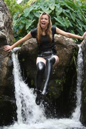 Tessa Ditner Mauritius shoot