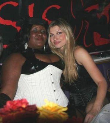 With Madame Caramel