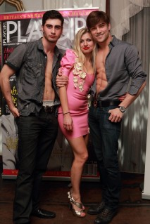 Playgirl magazine launch event