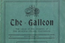 1911 By 1911 a Student Union was established. We know this from the earliest record of the Student Union newspaper The Galleon.