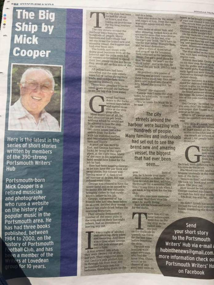 Mick Cooper Story