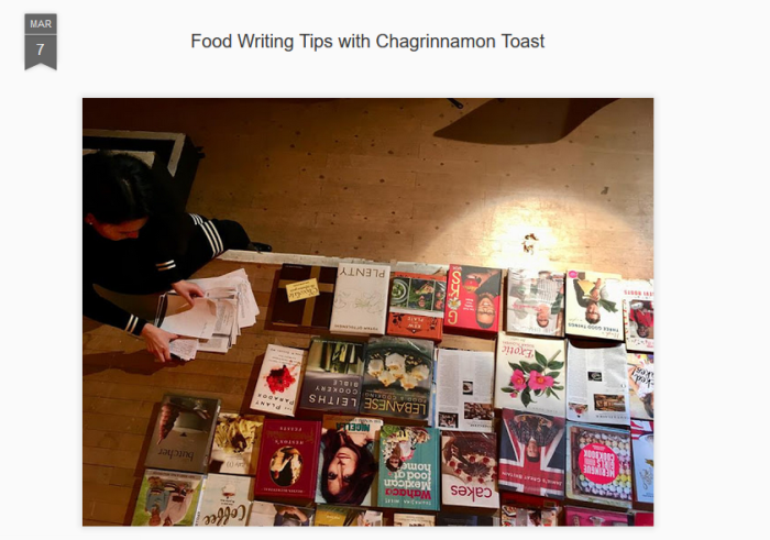 Food Writing Tips with Chagrinnamon Toast.PNG