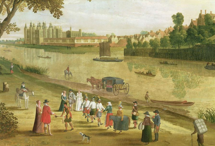 The Thames at Richmond Flemish School